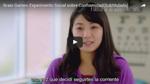 Un experimento sobre aprendizaje social