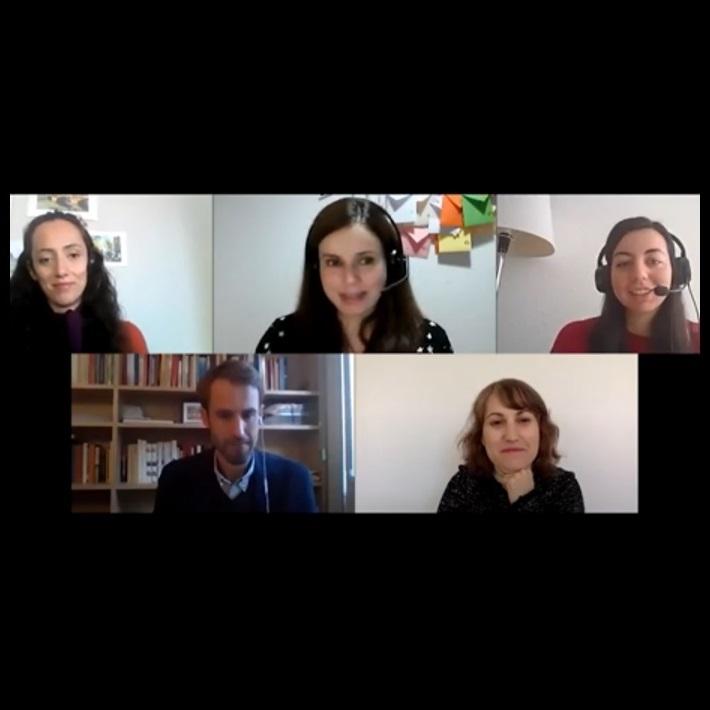 """Ramon Bastida, Mercè Martín, Maite Dilmer y Sonia Casimiro: """"Teletrabajo: impacto y regulación"""""""