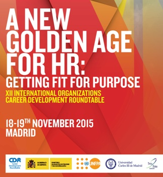 Madrid Career Development Roundtable 2015